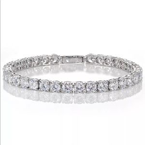 Silver 925 tennis bracelet cubic zirconia diamond